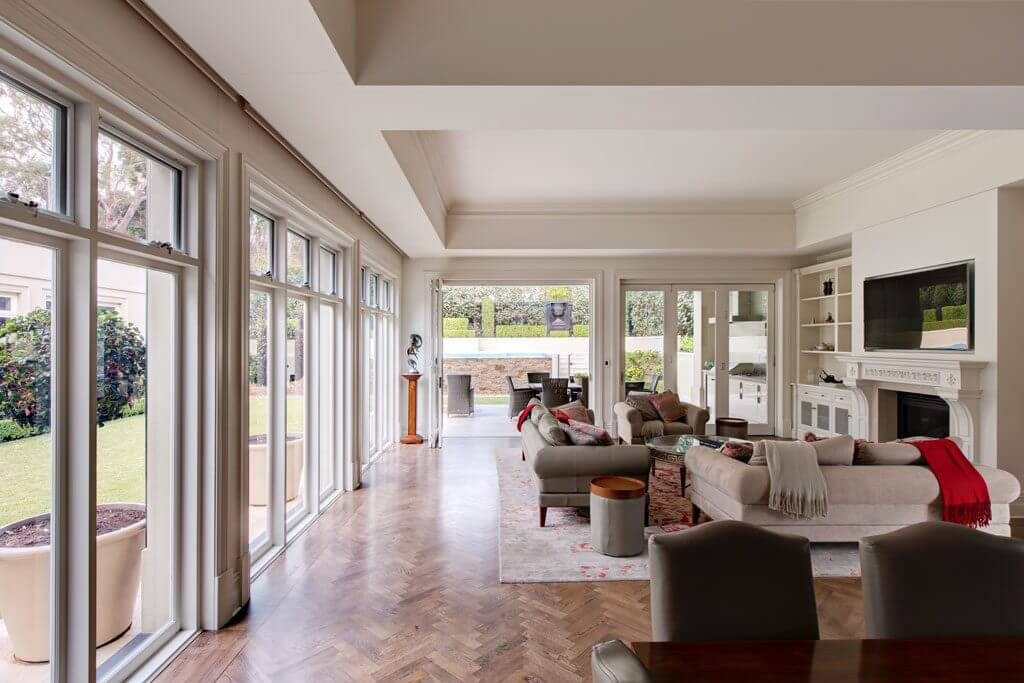 Living Room | Springfield Home Building Project Adelaide