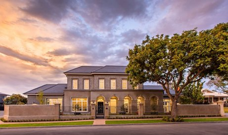 Front of the House | Greystone Home Building Project Adelaide