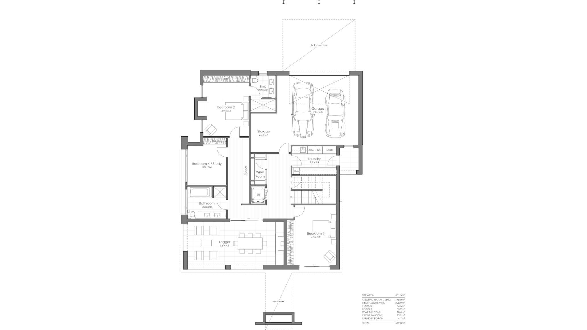 SK04 Ground Floor Plan _ Layout