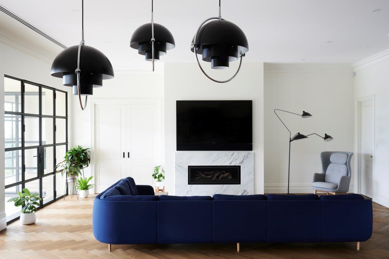 Living Room | Rosslyn Home Building Project Adelaide
