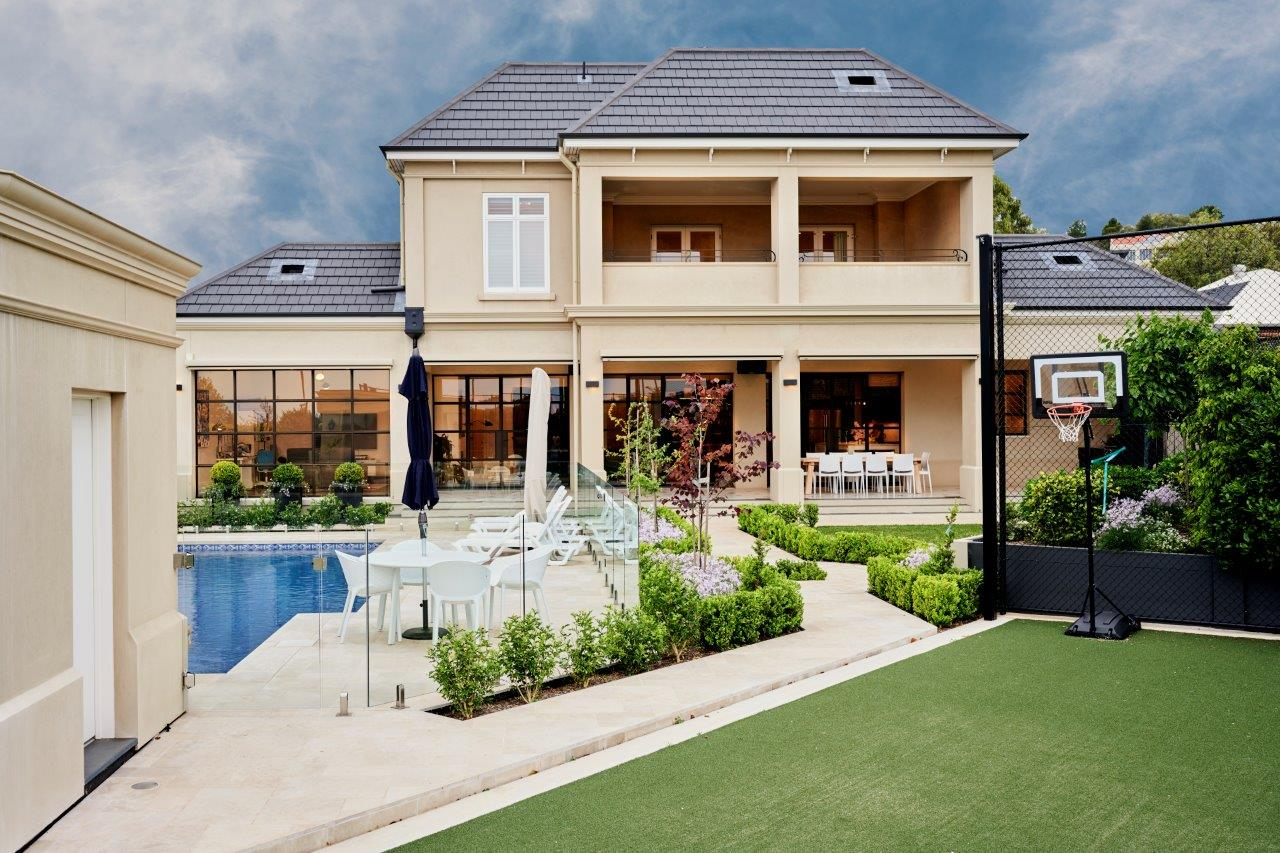 Rear of Home | Rosslyn Home Building Project Adelaide