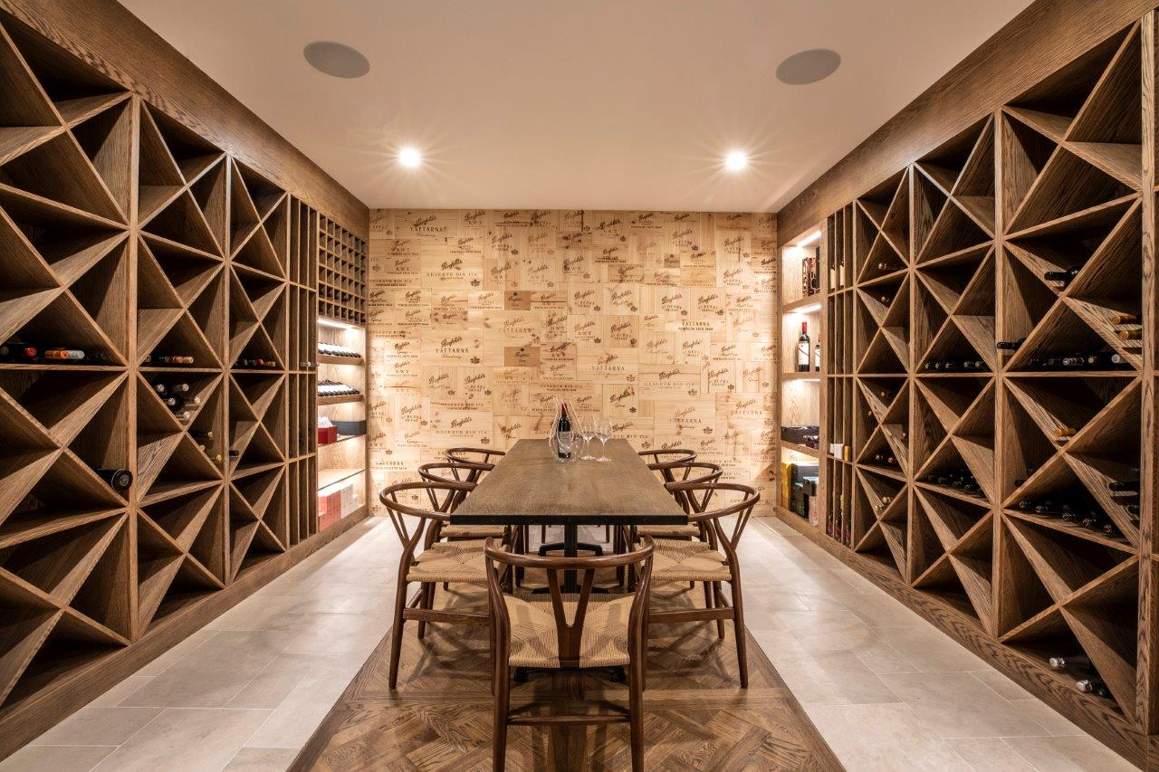 Wine Cellar | Rosslyn Home Building Project Adelaide